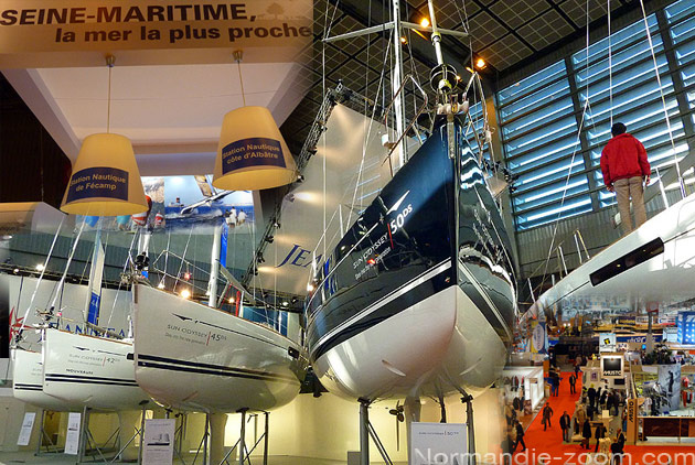 la normandie au salon nautique de paris