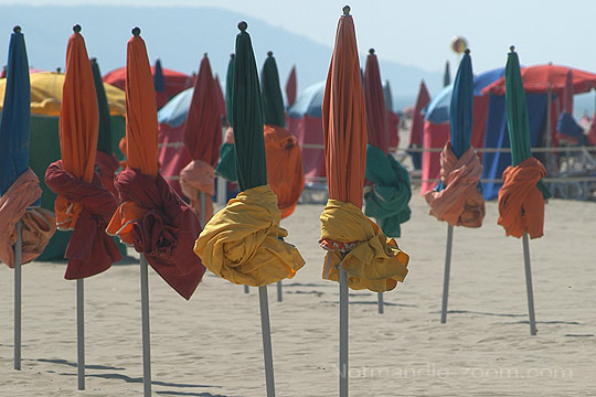 pin parasols de deauville on